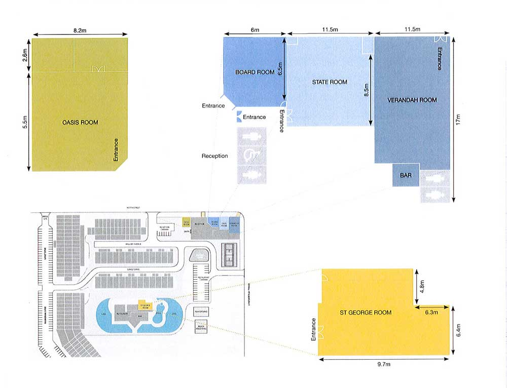 Oaks Oasis conference floor plans
