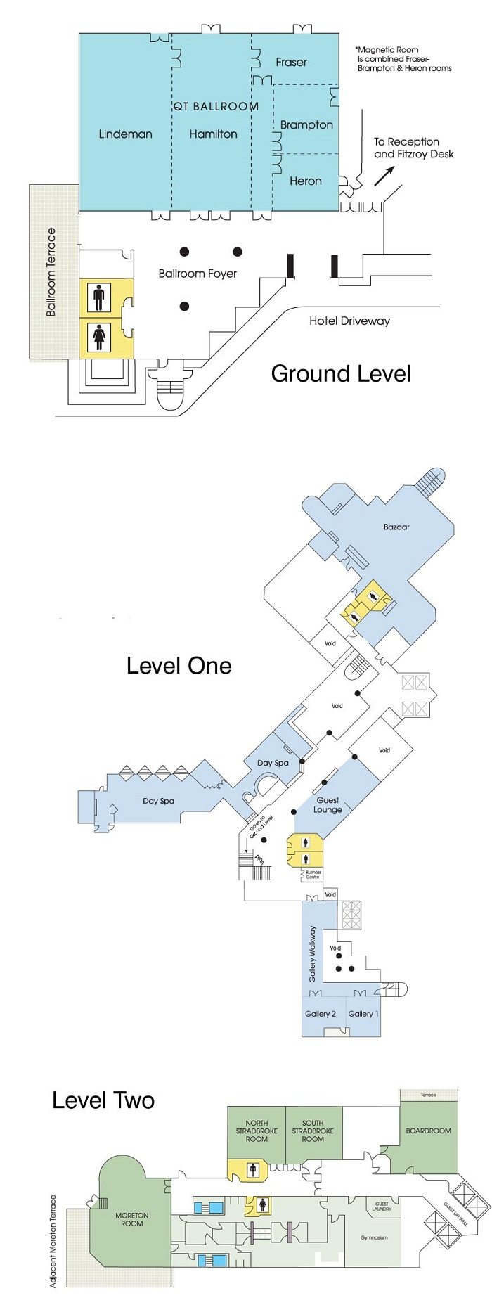 QT Gold Coast Conference Floor Plans